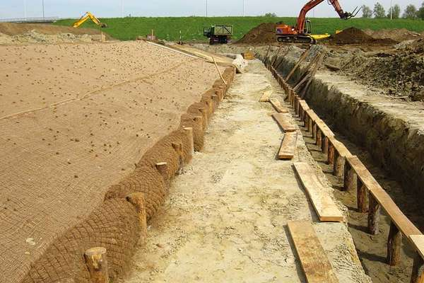 Application examples Coir logs